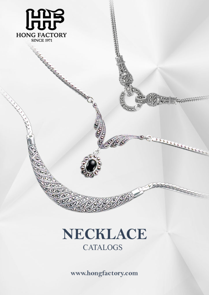 Marcasite Jewelry catalogs Necklace