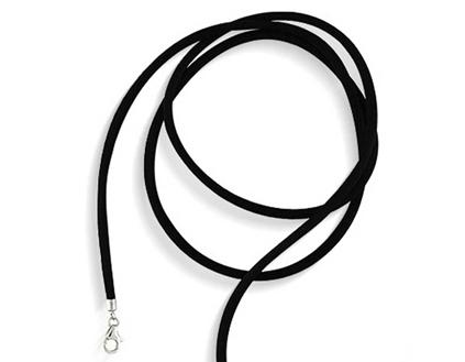 Black Silk Cord jewelry