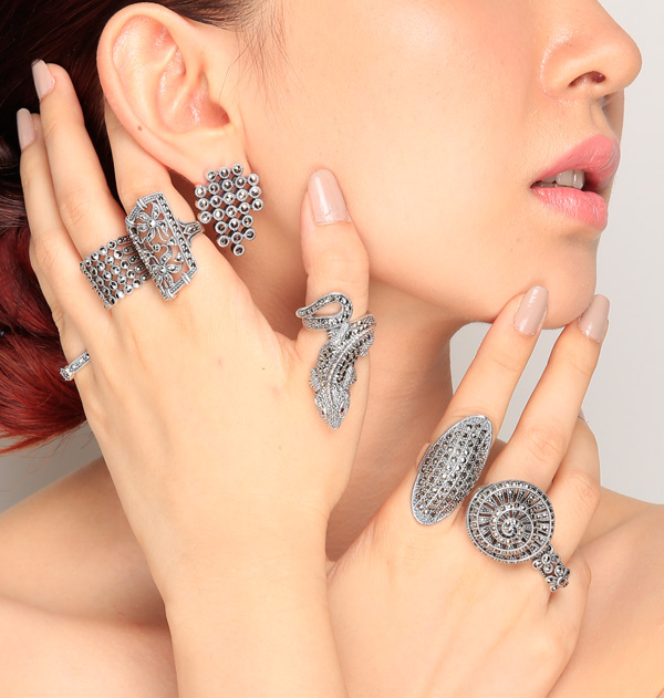 Wholesale Marcasite Ring