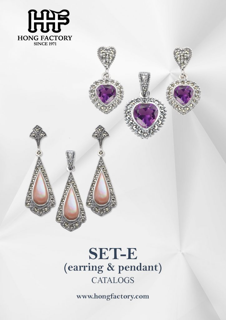 Marcasite Jewelry catalogs set