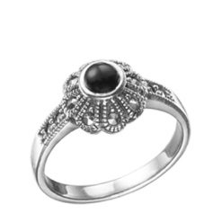 Marcasite jewelry ring HR0002 1