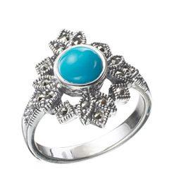 Marcasite jewelry ring HR0003 1