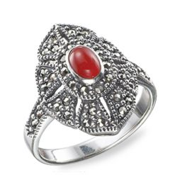 Marcasite jewelry ring HR0005 1