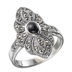 Marcasite jewelry ring HR0011 1