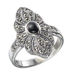 Marcasite jewelry ring HR0011 1