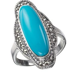 Marcasite jewelry ring HR0012 1