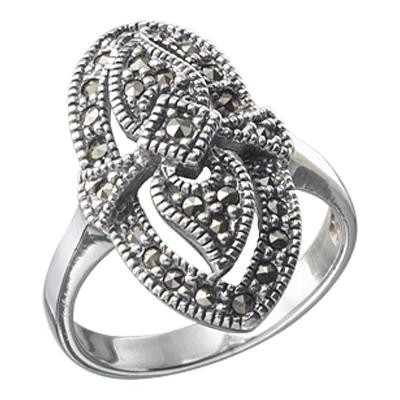 Marcasite jewelry ring HR0016 1