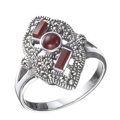 Marcasite jewelry ring HR0020 1