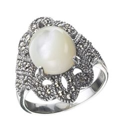 Marcasite jewelry ring HR0022 1