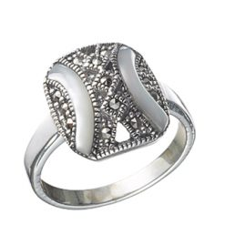 Marcasite jewelry ring HR0026 1