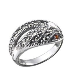 Marcasite jewelry ring HR0027 1