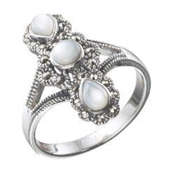 Marcasite jewelry ring HR0029 003