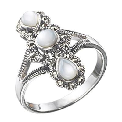 Marcasite jewelry ring HR0029 1