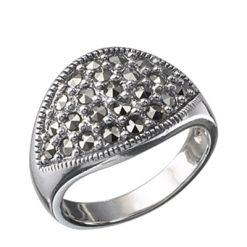 Marcasite jewelry ring HR0040 1