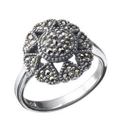 Marcasite jewelry ring HR0041 1