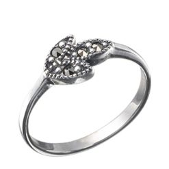 Marcasite jewelry ring HR0044 1