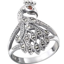 Marcasite jewelry ring HR0053 1