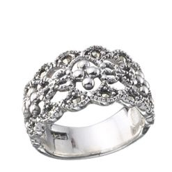 Marcasite jewelry ring HR0065 1