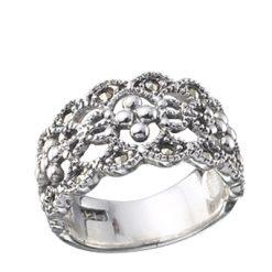 Marcasite jewelry ring HR0065 1