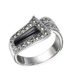 Marcasite jewelry ring HR0068 1