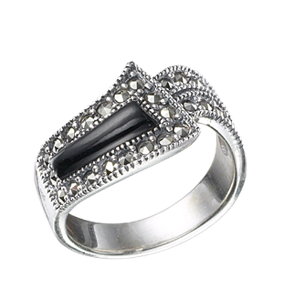 Marcasite jewelry ring HR0068 1