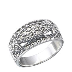 Marcasite jewelry ring HR0077 1