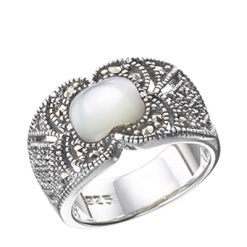 Marcasite jewelry ring HR0079 1