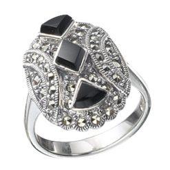 Marcasite jewelry ring HR0083 1