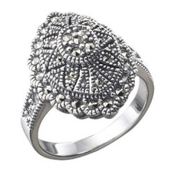 Marcasite jewelry ring HR0084 1