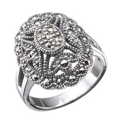 Marcasite jewelry ring HR0085 1