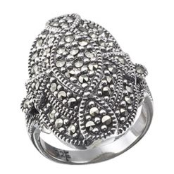 Marcasite jewelry ring HR0090 1