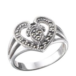 Marcasite jewelry ring HR0095 1