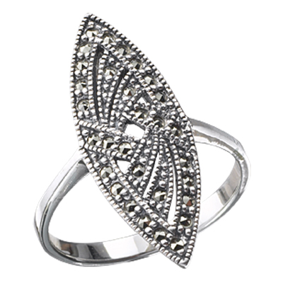 Marcasite jewelry ring HR0096 1