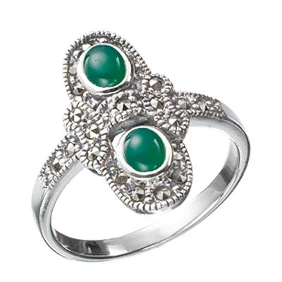 Marcasite jewelry ring HR0097 1