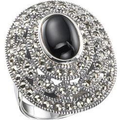 Marcasite jewelry ring HR0104 1