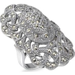 Marcasite jewelry ring HR0105 1