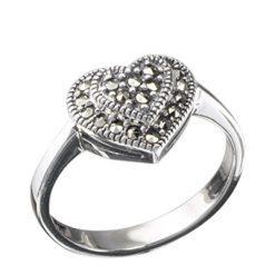 Marcasite jewelry ring HR0108 1