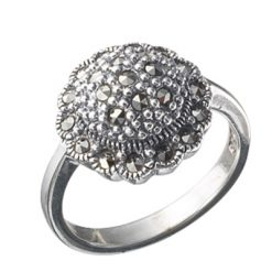 Marcasite jewelry ring HR0111 1
