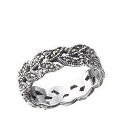Marcasite jewelry ring HR0118 2