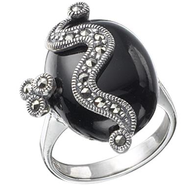 Marcasite jewelry ring HR0119 1