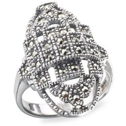Marcasite jewelry ring HR0120 1