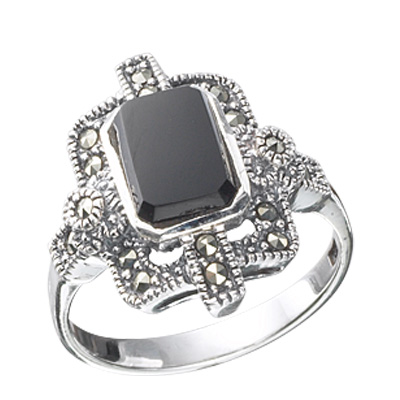 Marcasite jewelry ring HR0139 1