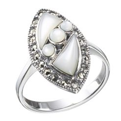 Marcasite jewelry ring HR0142 1