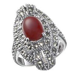 Marcasite jewelry ring HR0152 1