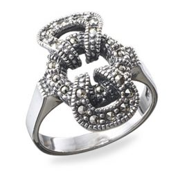 Marcasite jewelry ring HR0161 1
