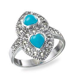 Marcasite jewelry ring HR0163 1