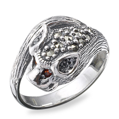 Marcasite jewelry ring HR0176 1