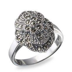 Marcasite jewelry ring HR0181 1