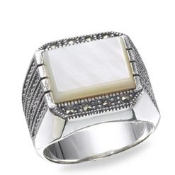 Marcasite jewelry ring HR0187 1