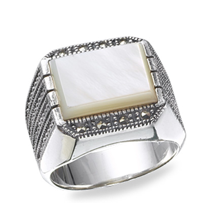 Marcasite jewelry ring HR0187 1